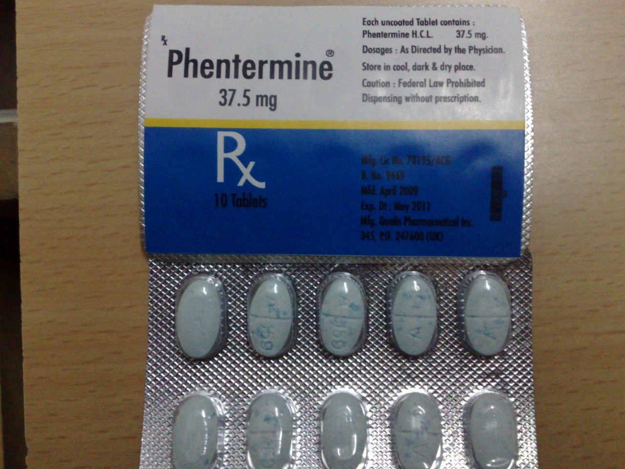Phentermine Prescription –
